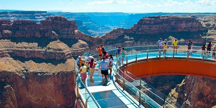 West Rim SkyWalk view