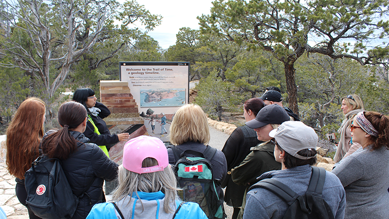 Grand Canyon Trail of Time Traces Canyon's Geological History