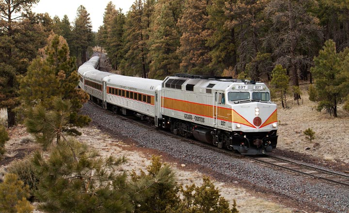 Grand Canyon Railway Train.