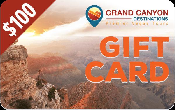 $100 Grand Canyon Destinations Gift Card