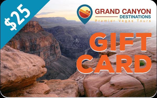$25 Grand Canyon Destinations Gift Card